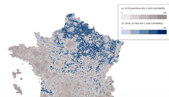 Map Of France Voting.Election 2017 How France Voted