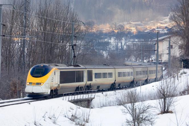 The Eurostar Ski Train