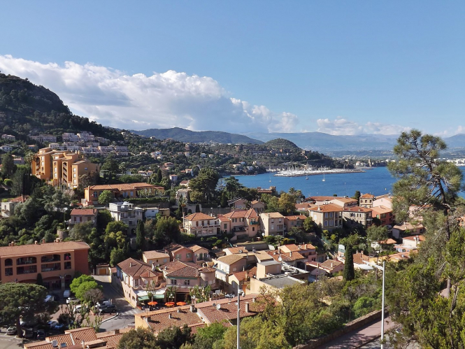 A sea view of Théoule-sur-Mer. France to simplify squatter eviction for second home owners