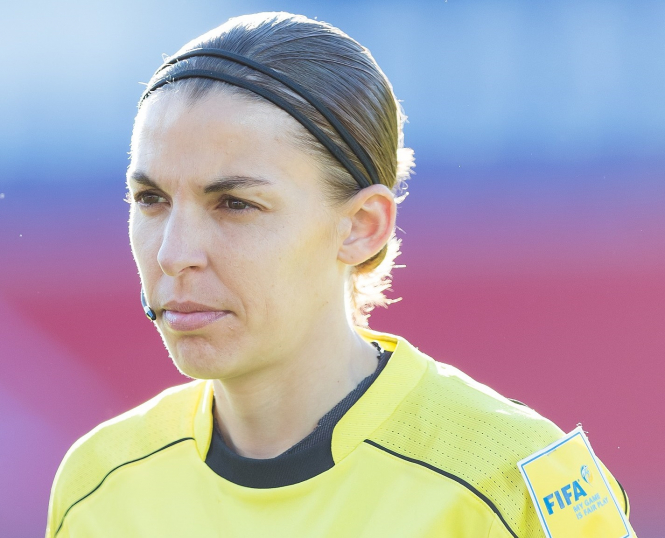 Champions League's first female referee is French