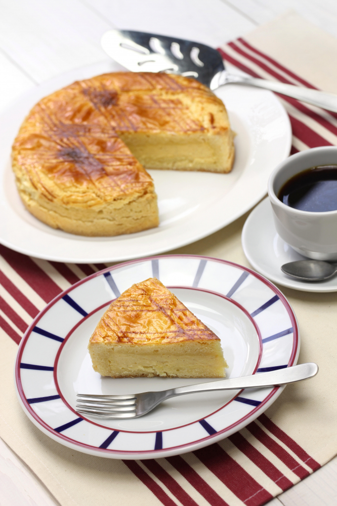 Travel the regions of France from your kitchen during lockdown: A picture of a Gâteau Basque