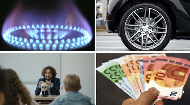 Gas prices, tyres, funding for teachers and unemployed in training. New laws and changes in France: May 2021