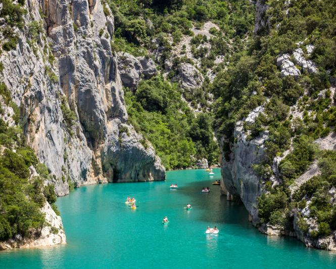 Where to buy property in France: Alpes-de-Haute-Provence. Pictured: Verdon Gorge, Castellane, Alpes-de-Haute-Provence, France.