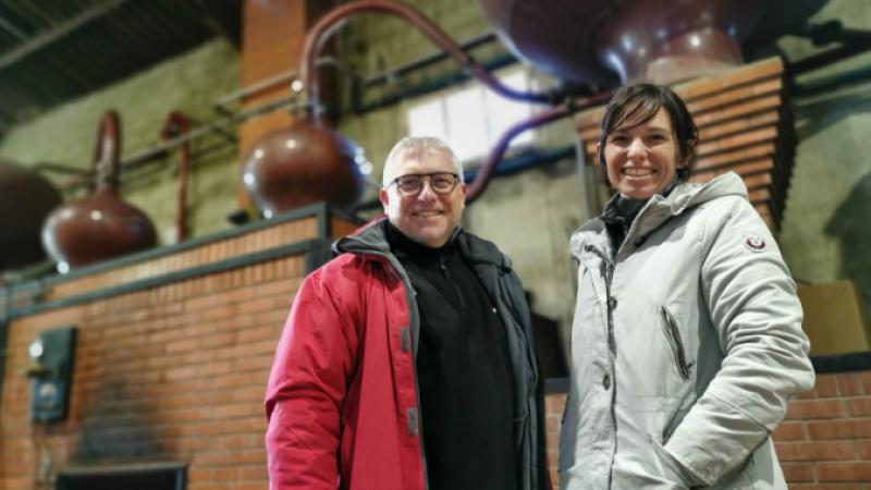 Grand Nez distillery