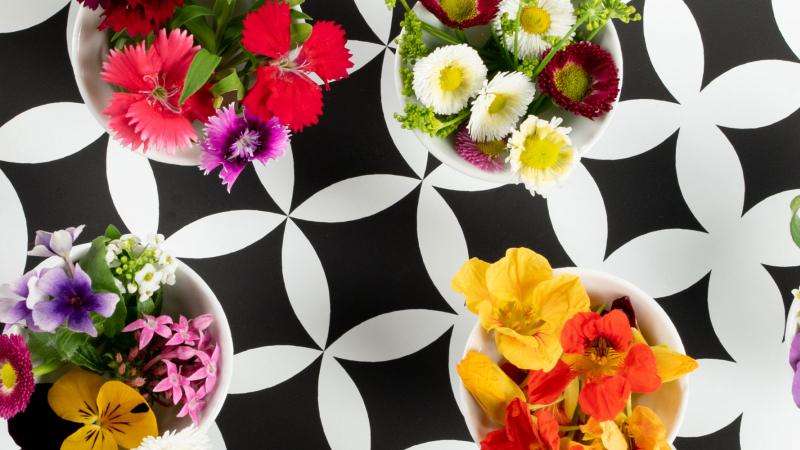 Marius Auda edible flowers