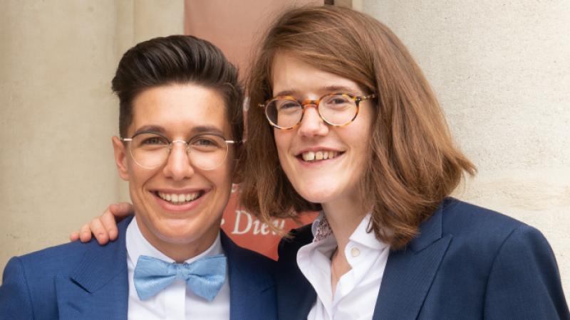 Emeline Daudé and Agnès Kauffmann