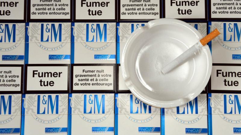 Fumer tue cigarette packets