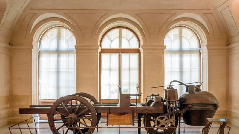 Joseph Cugnot's 1770 Fardier à Vapeur