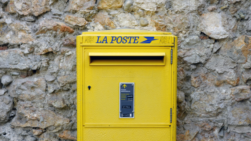 La poste in France