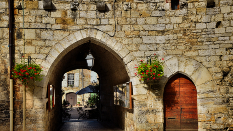 Martel town France