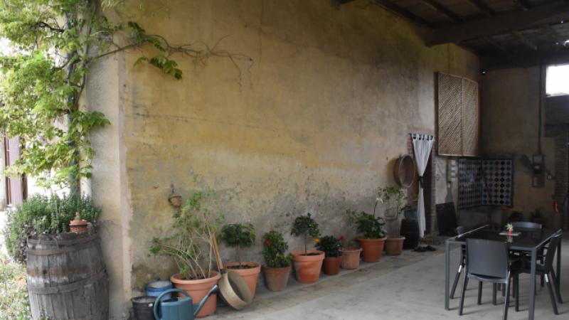 Renovation patio