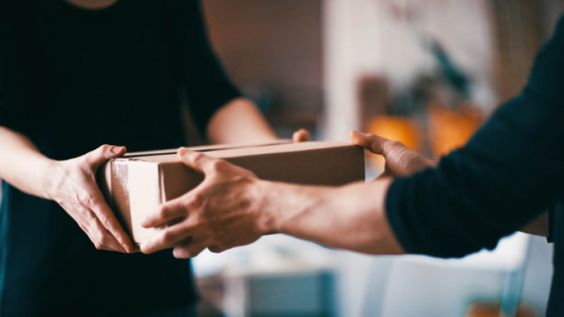 Sending parcels in France