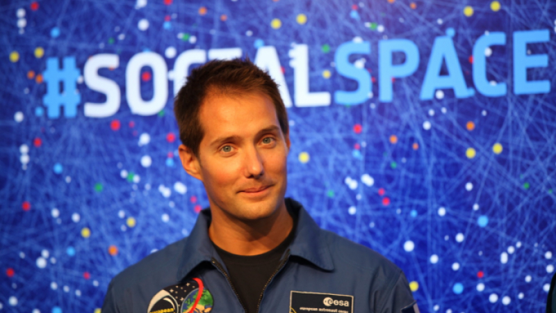 Thomas Pesquet France ISS Commander