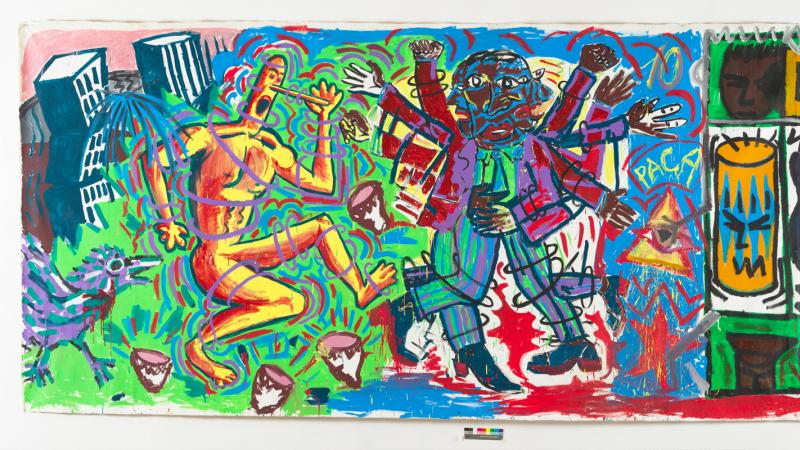 Untitled, 1982 by Blanchard, Boisrond, Combas