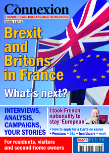 British expats in France after Brexit carte de sejour and rights