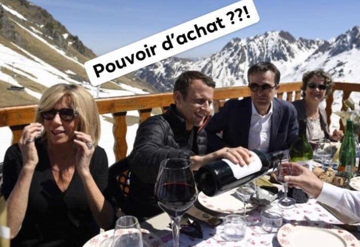President Macron 2 000 Bottle Of Wine Post Debunked