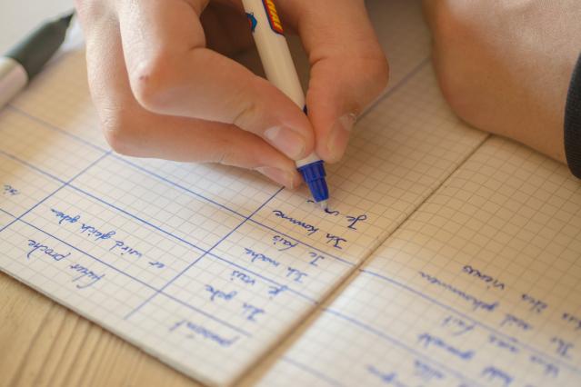 Writing French image