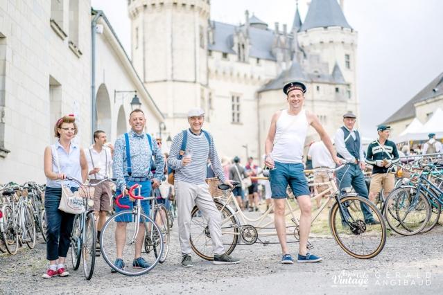 Anjou Velo Vintage Festival Retro bikes