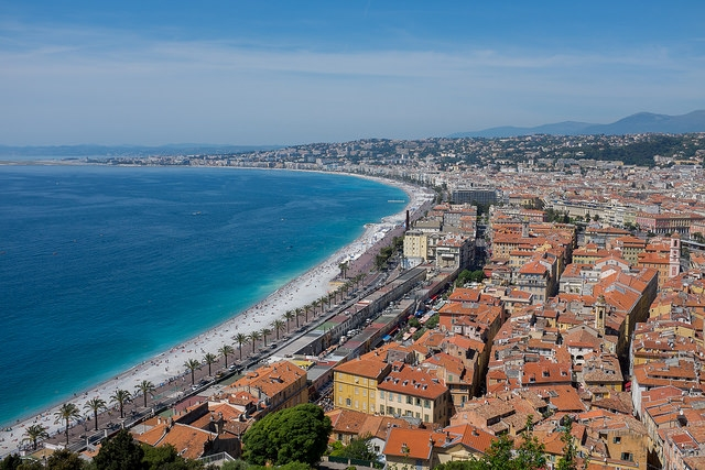 Nice was hailed the fourth 'smartest' city in the world, after London, New York and Barcelona