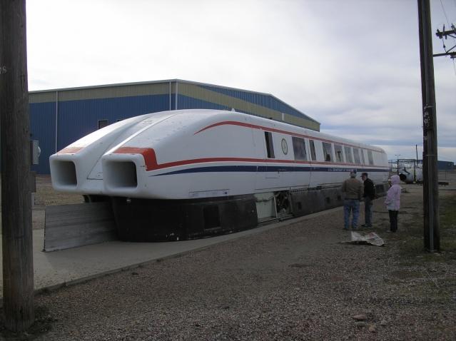 The Aerotrain, a Hyperloop train built in the 1970s