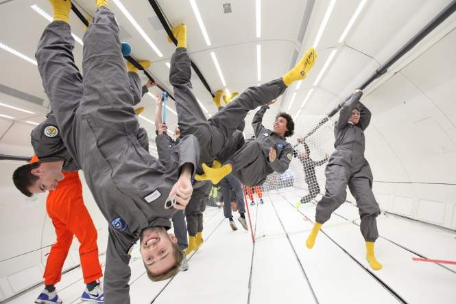 France is one of only three countries to offer flights where passengers can experience weightlessness