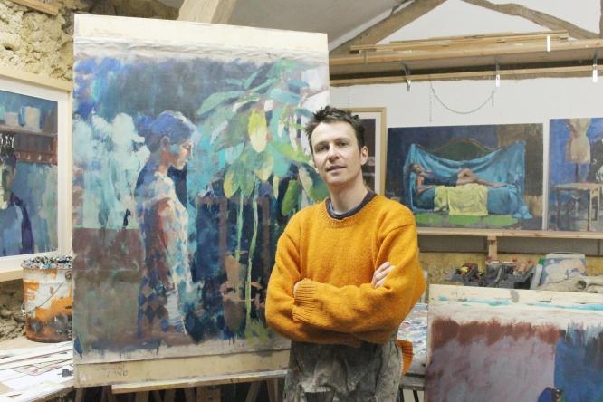 Artist Ben Brotherton