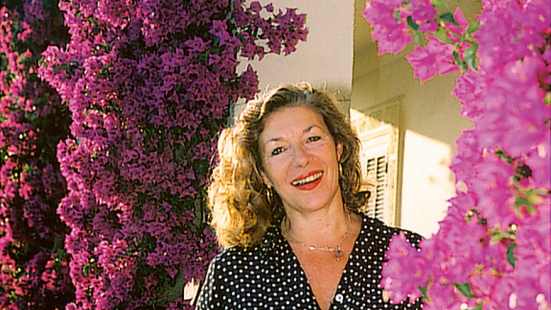 Carole Drinkwater in Provence