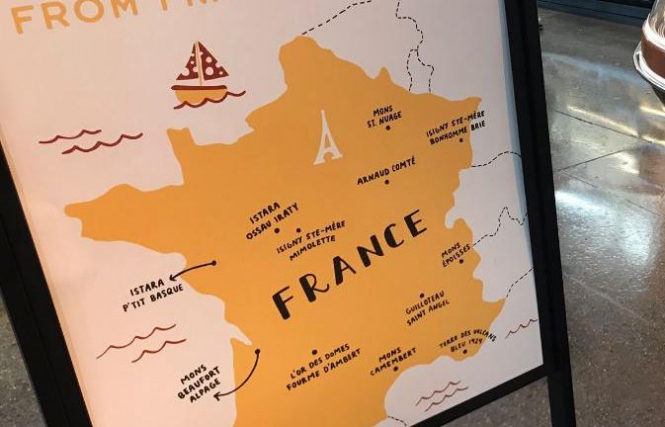 US Shops French Cheese Map Is Full Of Holes - Incorrect us map
