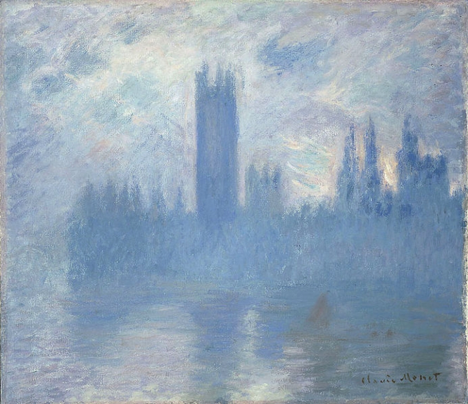 Claude Monet Houses of Parliament London