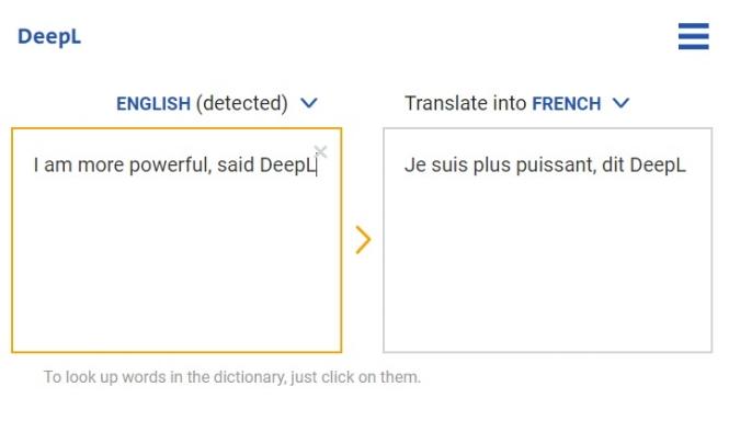 new online translator more powerful than google