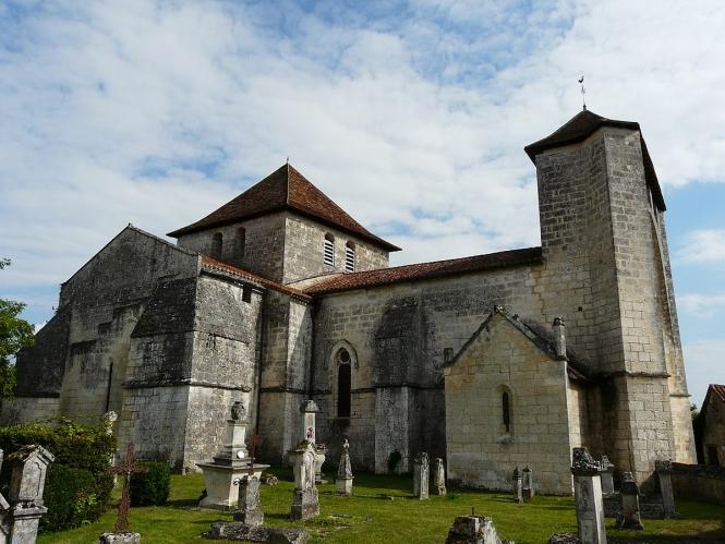 Église Saint-Cybard de Cercles