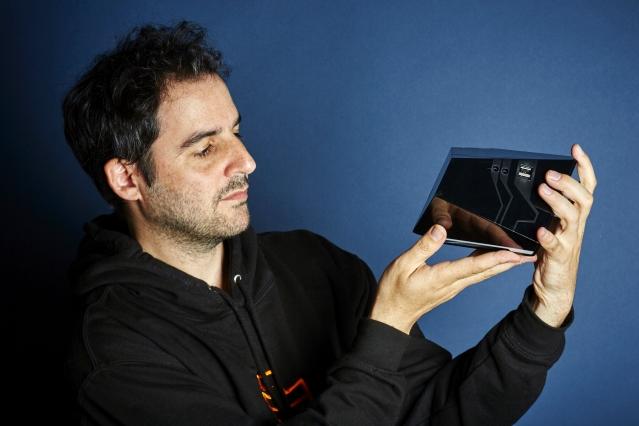 Emmanuel Freund, founder of Blade company