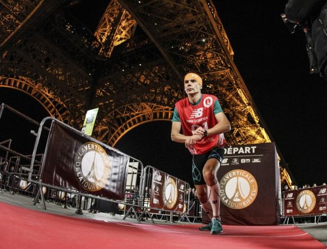 Eiffel Tower Verticale race Paris