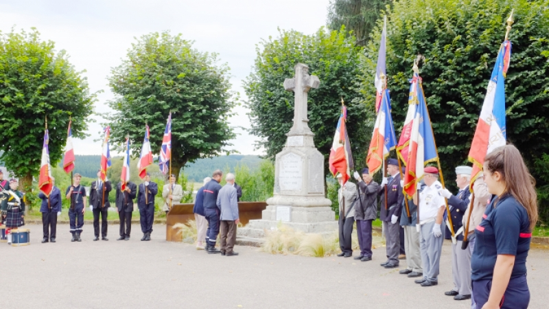 Lyon Liberation Branch RBL ceremony held every June at Montsauche-les-Settons