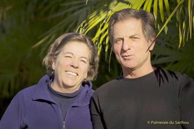 Marie-Christine et Daniel FORT Palmeraie du Sarthou