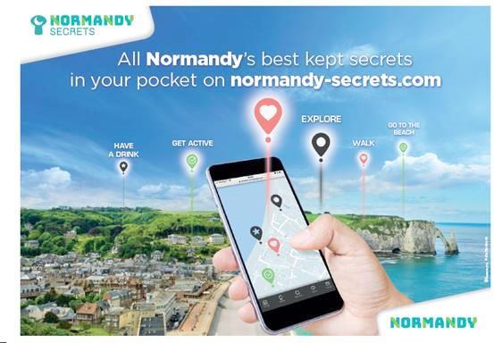 Normandy secrets app
