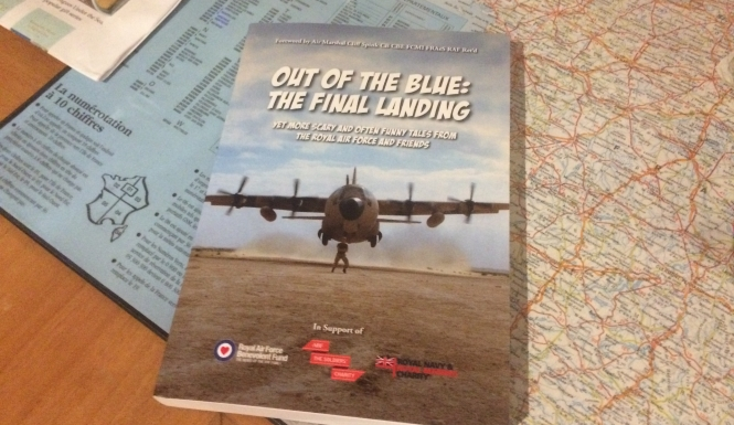 Image result for out of the blue final landing