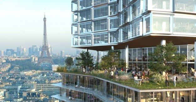 Almost new look for tour montparnasse for Hotel design montparnasse
