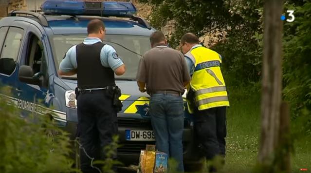 police at gendarmerie vehicle