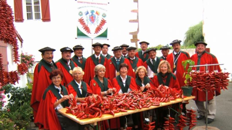 Confrerie du Piment et du Axoa de veau d'Espelette (no copyright)
