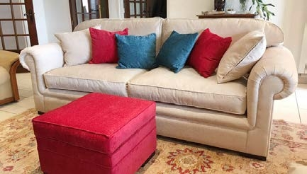 Stylish Highcleare Fixed Cover Sofa Design
