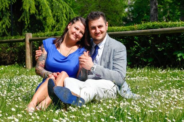 Kendall Fabre and her husband Julien