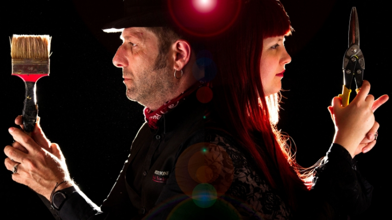 Vincent Fonf and Seza Querrien