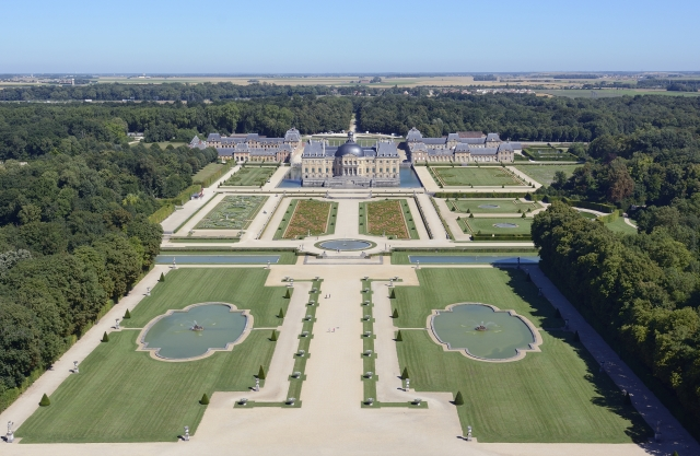 Vaux-le-Vicomte, one of the historic gardens of France taking part in this year's Open Gardens scheme