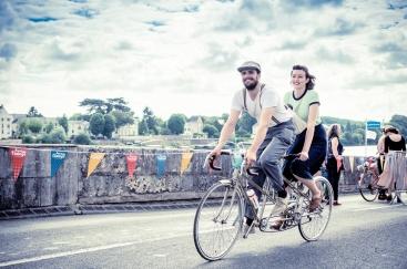 retro bike ride