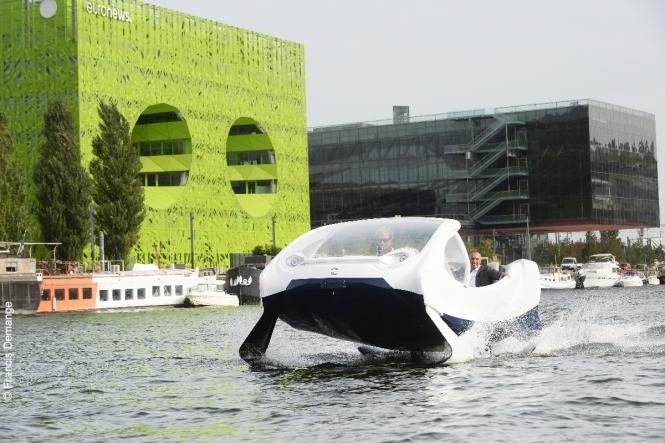 Sea Bubbles on test in Lyon