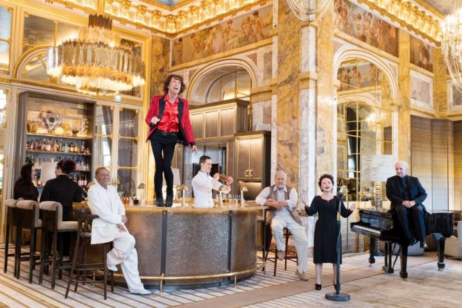 Stars at Le Crillon hotel