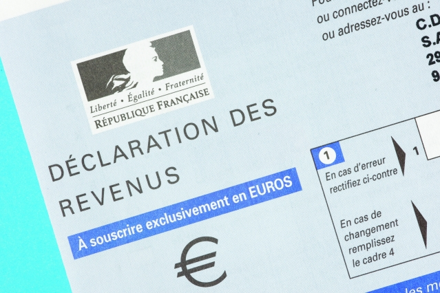 French income tax form
