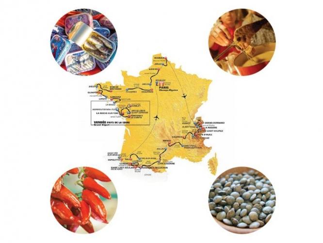 Tour de France Gastronomique 2018