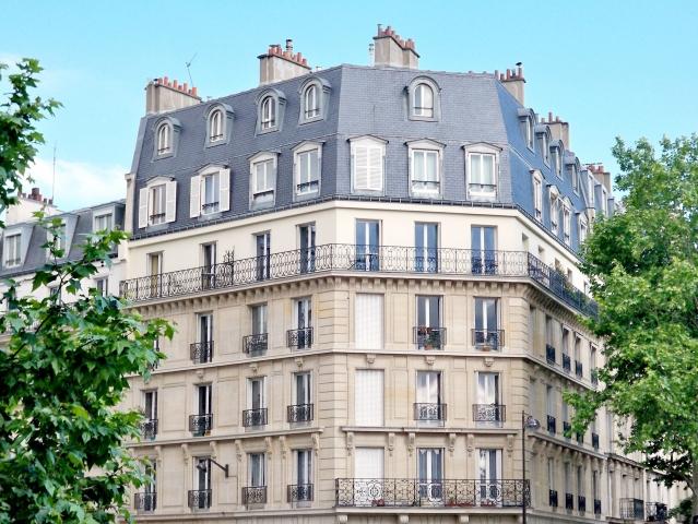 Typical Paris apartment